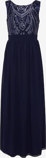 Mela London Večerna obleka 'SEQUIN DETAILED MAXI DRESS' | mornarska barva: Frontalni pogled
