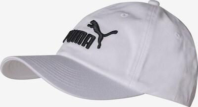 PUMA Cap 'Essentials' in schwarz / weiß, Produktansicht