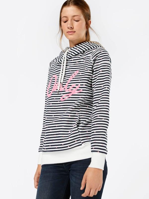 ONLY Sweatshirt 'onlAWESOME VILLAGE'