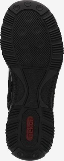 RIEKER Sneakers laag 'N32X8' in de kleur Zwart: Onderaanzicht