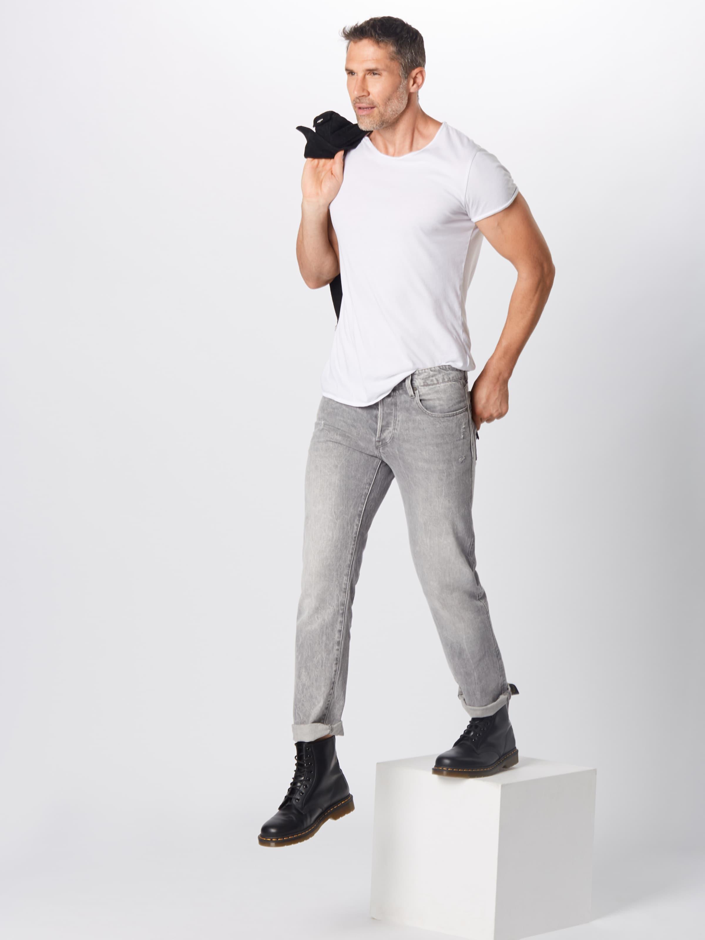 En Raw '3301 G Jean Denim star Straight' Gris RSjLqc5A43