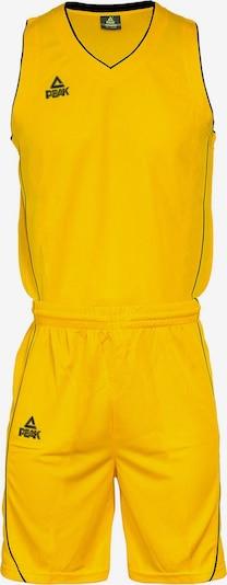 PEAK Trikot-Set in gelb / schwarz, Produktansicht