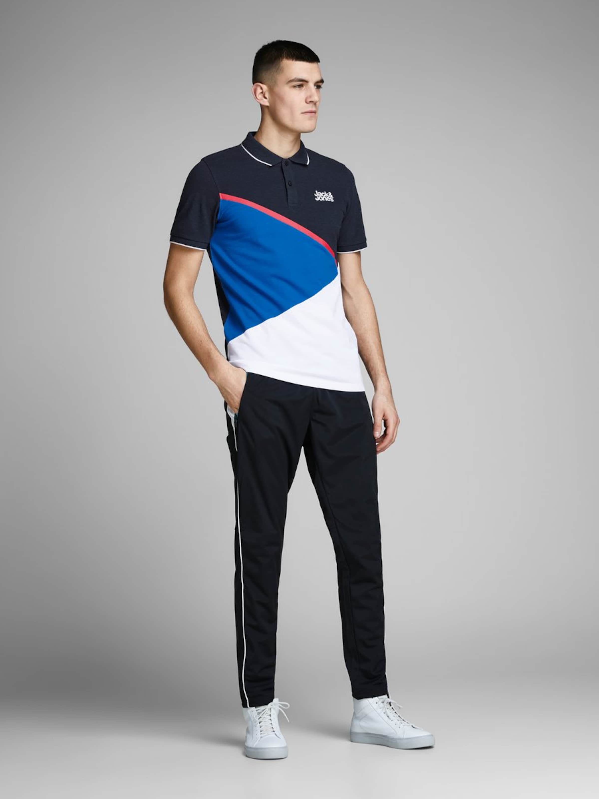 Jackamp; T shirt Blanc En BleuNuit Jones ALq4j35R