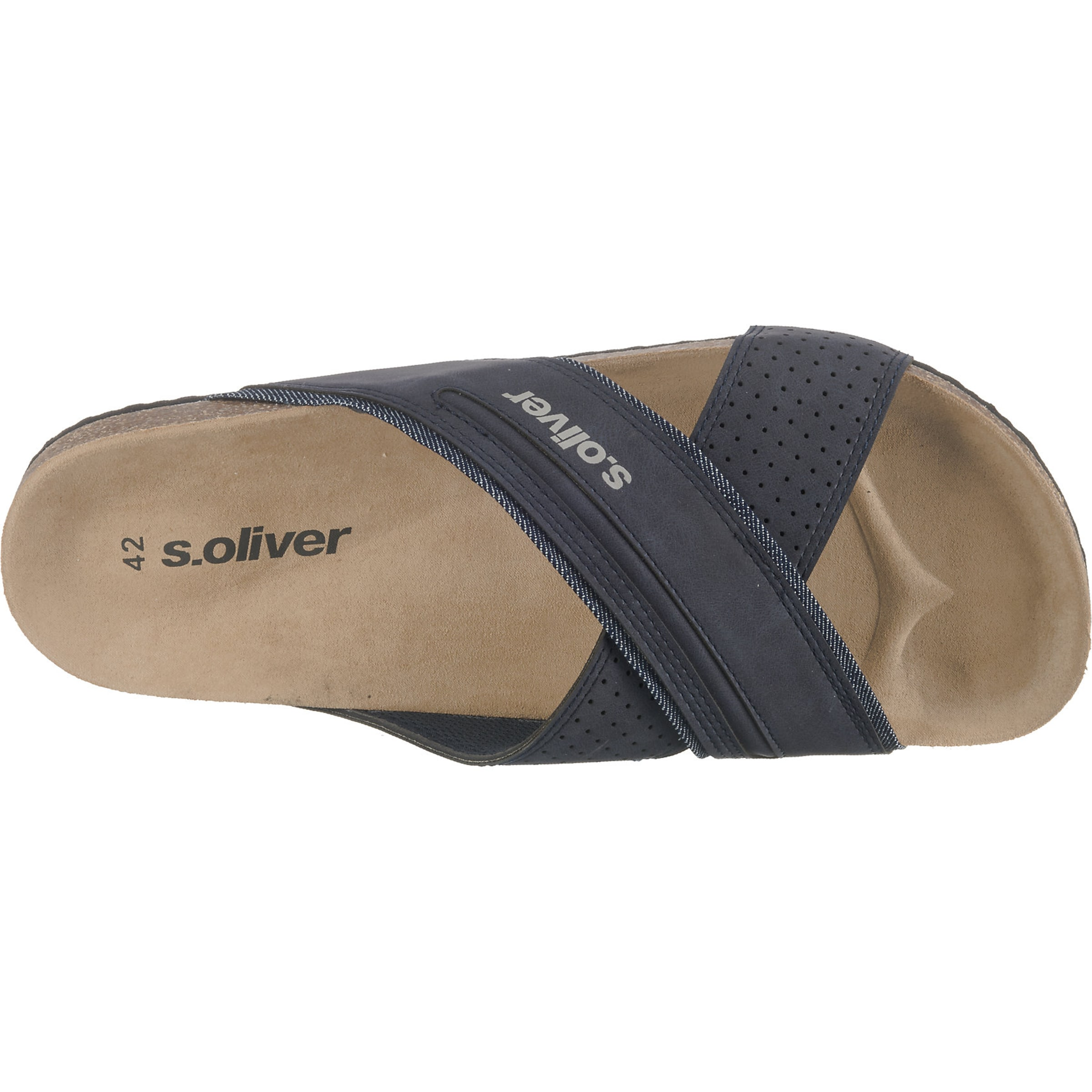 Label S Red oliver Navy In Slipper m8nPvy0ONw