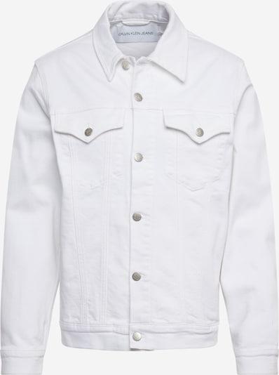 Calvin Klein Jeans Jeansjacke 'FOUNDATION SLIM DENIM JACKET' in white denim, Produktansicht