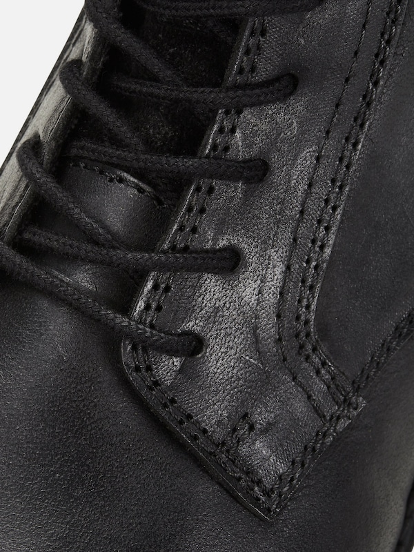 À Jackamp; Jones Bottines Lacets En Anthracite 3R4L5jcAq