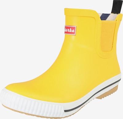 Guminiai batai 'Wattpuuschen' iš Derbe , spalva - geltona, Prekių apžvalga