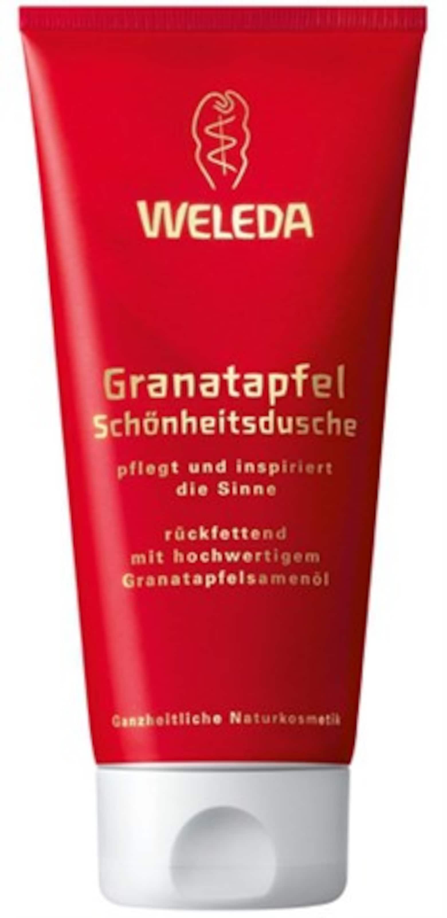 WELEDA 'Granatapfel Schöheitsdusche', Duschgel, 200 ml