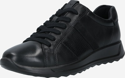 ECCO Baskets basses en noir, Vue avec produit