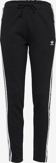 ADIDAS ORIGINALS Hose 'REGULAR TP CUF' in schwarz / weiß, Produktansicht
