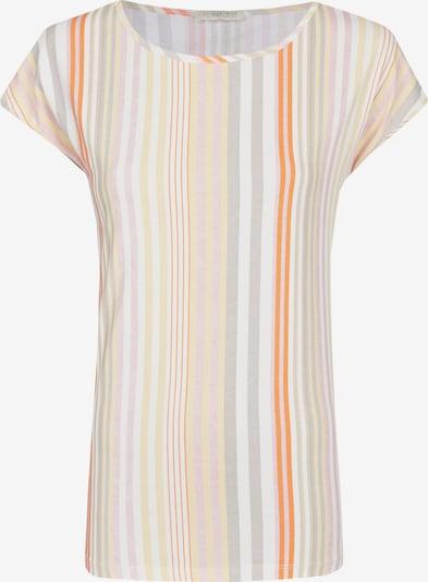 Heimatliebe T-Shirt in grau / pastellorange / dunkelorange / pink / weiß, Produktansicht