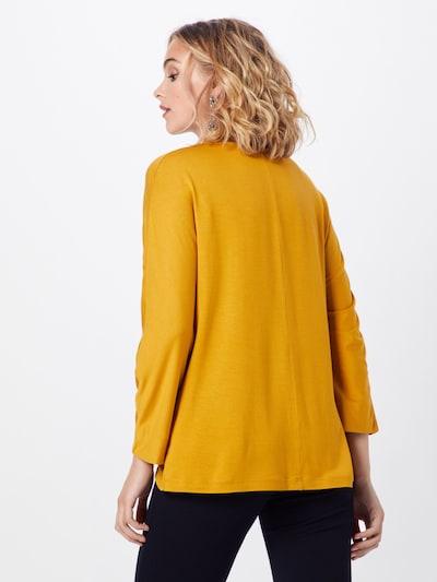MORE & MORE Shirt 'Dolman' in gelb: Rückansicht