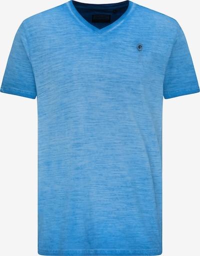 Petrol Industries T-Shirt en bleu chiné, Vue avec produit