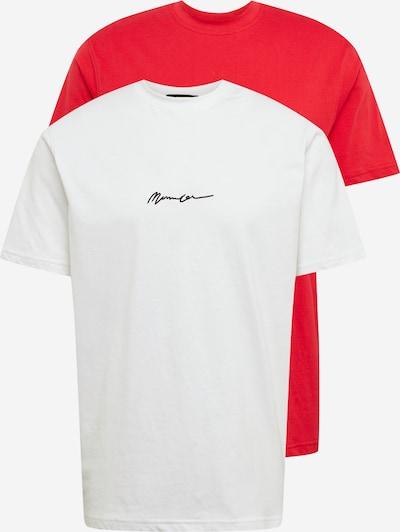 Mennace Shirts in weiß, Produktansicht