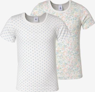 PETIT BATEAU Unterhemden in blau / weiß, Produktansicht