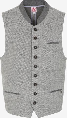 SPIETH & WENSKY Traditional Vest in Grey