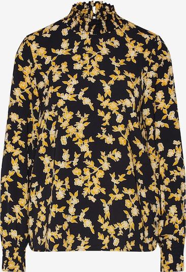 ONLY Bluse 'YVENERA' in gelb / schwarz, Produktansicht