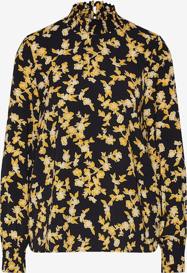 Bluză 'YVENERA' ONLY pe galben / negru, Vizualizare produs