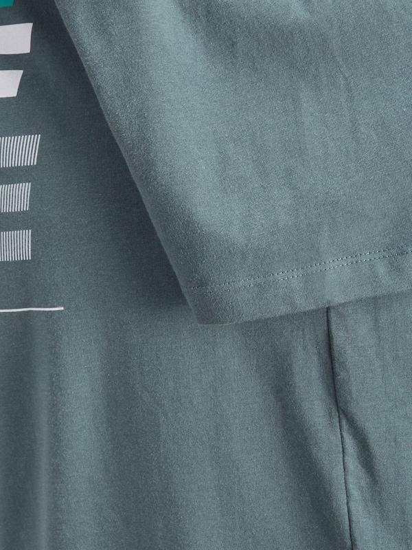 amp; Print shirt T Jones Kobaltblau Jack BqpdHB