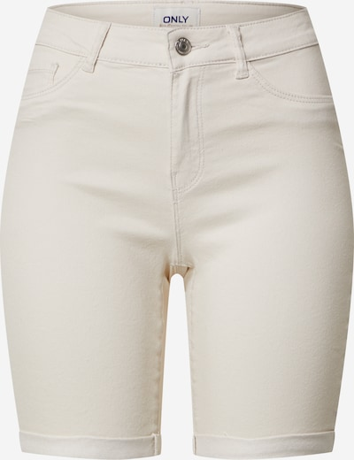 ONLY Shorts 'ONLSUN ANNE K MID LONG COLOR SHORTS PNT' in creme, Produktansicht