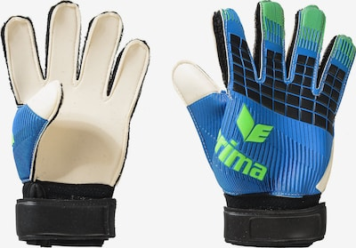 ERIMA Handschuhe 'Flexinator' in blau / mint / schwarz / weiß, Produktansicht
