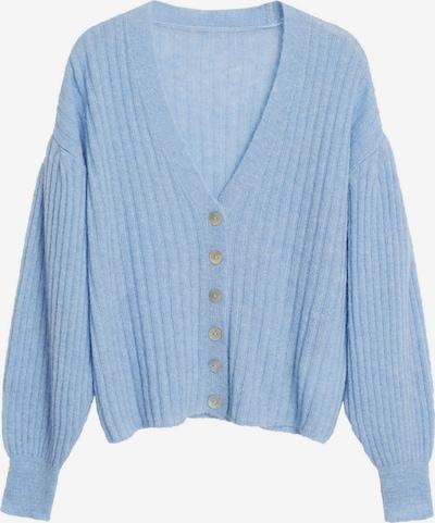 MANGO Cárdigan 'Parton' en azul ahumado, Vista del producto