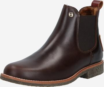 PANAMA JACK Chelsea Boots 'Giordana Igloo' in Brown