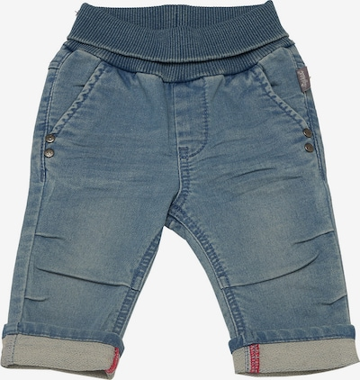 SIGIKID Softbundhose in blue denim / rot, Produktansicht