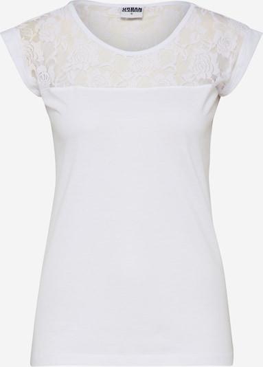 Urban Classics T-shirt en blanc, Vue avec produit