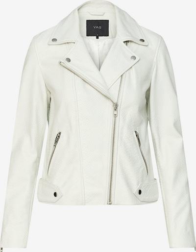 Y.A.S Bikerjacke in weiß, Produktansicht