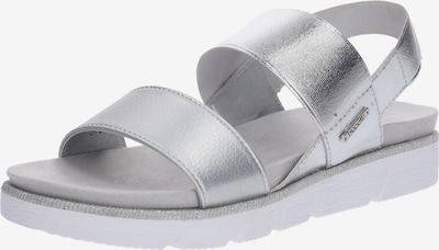 bugatti Sandale 'Kiko' in silber, Produktansicht