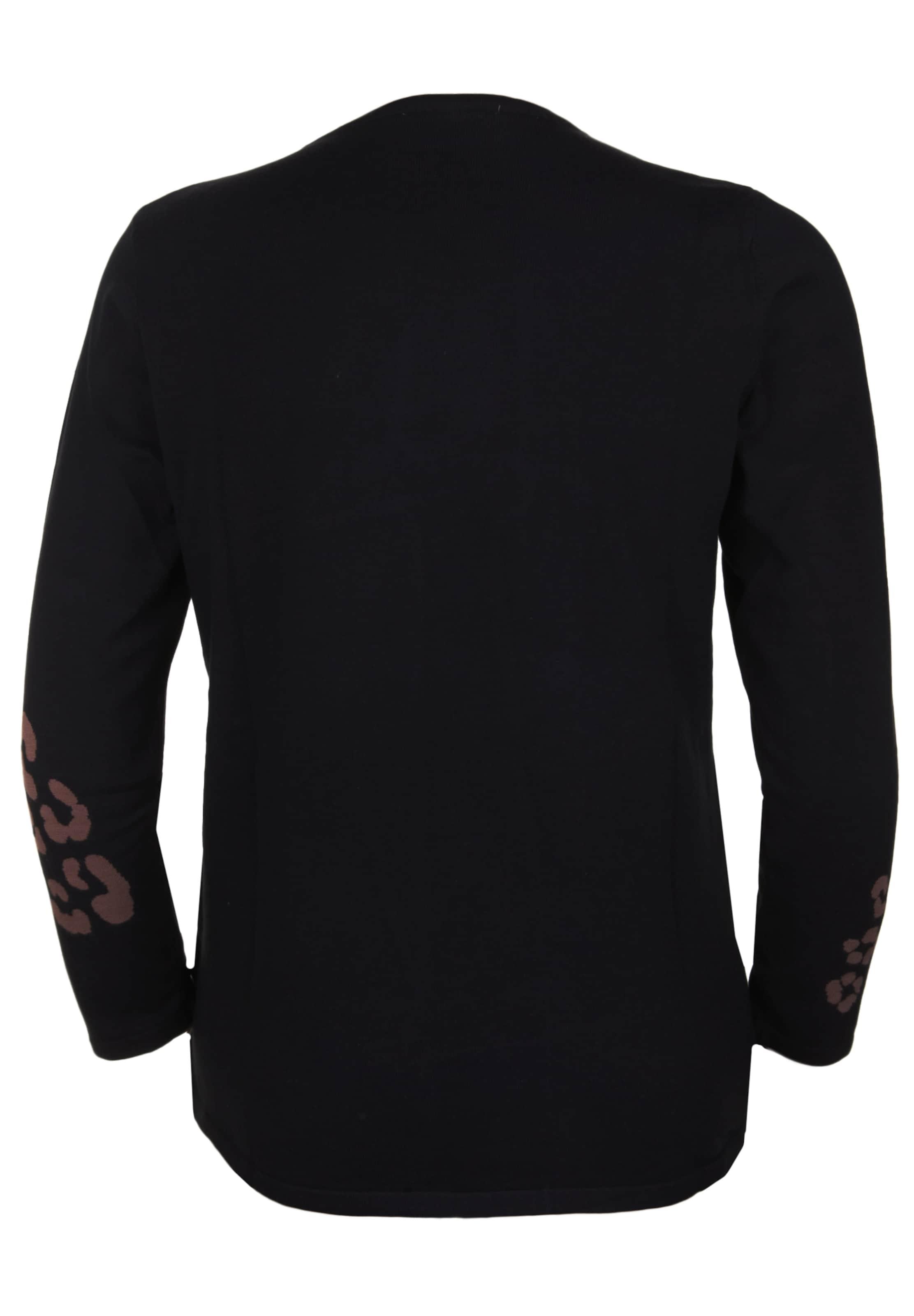 seeyou Pullover in braun / schwarz