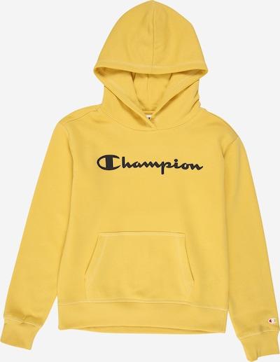 Champion Authentic Athletic Apparel Sweat-shirt en jaune d'or / noir, Vue avec produit