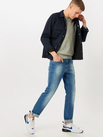 IZOD Sweater majica u siva: Prednji pogled