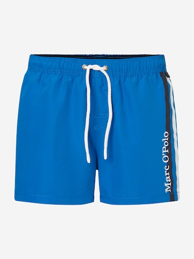Marc O'Polo Badehose ' Solids ' in blau / weiß, Produktansicht