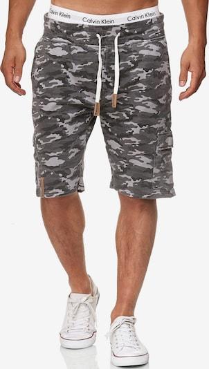 INDICODE JEANS Shorts 'White Rock' in taupe / khaki, Produktansicht