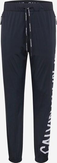 Calvin Klein Jeans Kalhoty - černá / bílá, Produkt