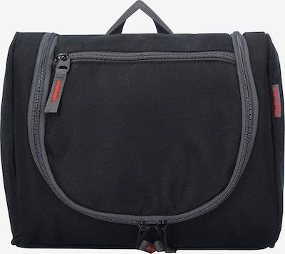 TRAVELITE Kulturtasche 'Travel Kit' in graumeliert / schwarz, Produktansicht