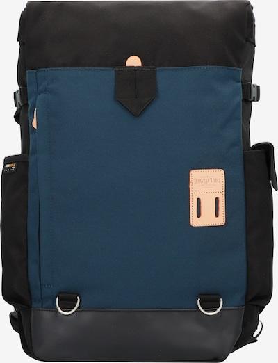 Harvest Label Rucksack 'Washiba' in navy / schwarz, Produktansicht