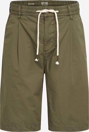 Pepe Jeans Pantalon à pince 'PIERCE POPLIN' en vert foncé, Vue avec produit