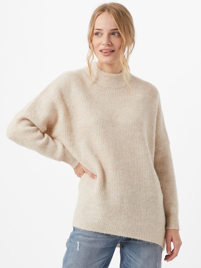 SELECTED FEMME Pullover 'Lulu Enica' in beige: Frontalansicht