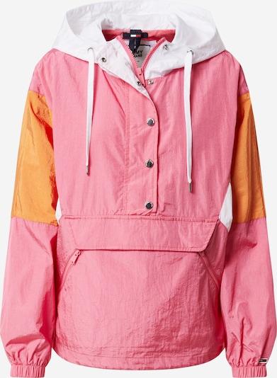 Tommy Jeans Veste mi-saison en orange clair / rose clair / blanc cassé, Vue avec produit