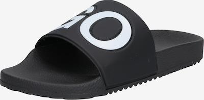 HUGO Slipper 'Timeout_Slip_rblg' in schwarz, Produktansicht