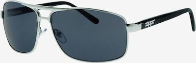 ZIPPO Sonnenbrille small Pilot Grey Flash Silber in grau, Produktansicht
