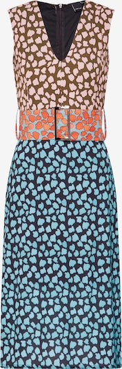 Lost Ink Kleit 'COLUMN DRESS IN MIX PRINT' sinine / oranž, Tootevaade