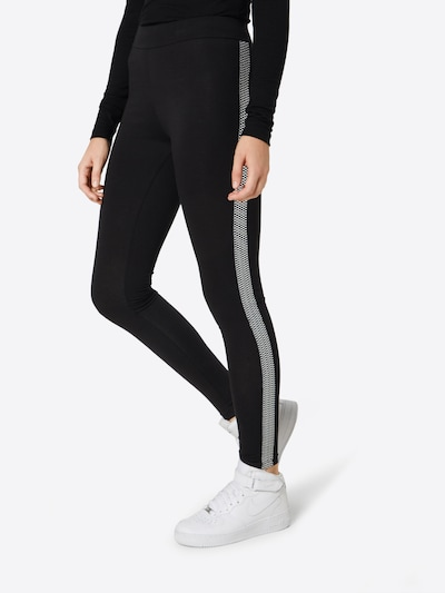 NEW LOOK Hose in schwarz / weiß, Modelansicht