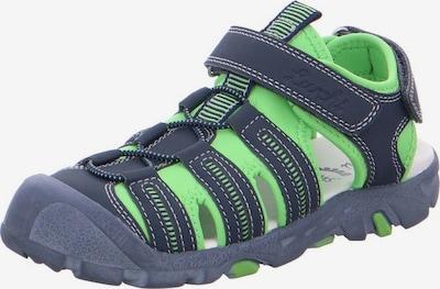 LURCHI Sandalen in marine / apfel, Produktansicht