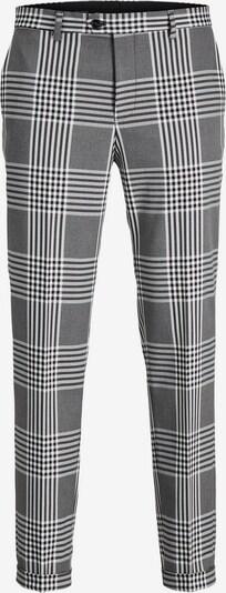 JACK & JONES Pantalon in de kleur Grijs / Lichtgrijs / Zwart / Wit, Productweergave