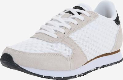 bézs / fehér WODEN Rövid szárú edzőcipők, Termék nézet