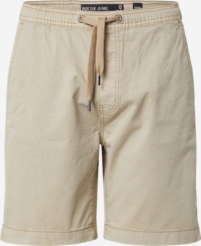 Pantaloni 'Kalowna' INDICODE JEANS pe bej, Vizualizare produs